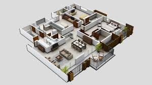 3 Bedroom Plan Bedroom 3 Bedroom Apartments Plan Bedrooms