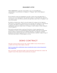 Agreement Letter Template Between Two Parties Letter