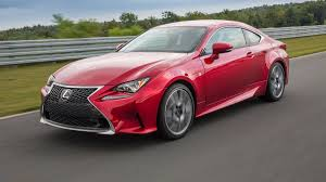 red lexus 2016 lexus rc 350 review stiff competition autoweek