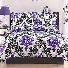 Purple And Gray Comforter Purple And Black Comforters Purple And Black Comforter Set From