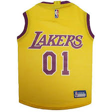 pets first los angeles lakers mesh jersey petco