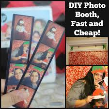 cheap photo booth diy photo booth fast and cheap time and losing it