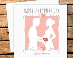 1st fathers day card etsy