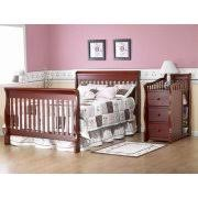 Sorelle 4 In 1 Convertible Crib Sorelle Tuscany 4 In 1 Convertible Crib And Changer Espresso