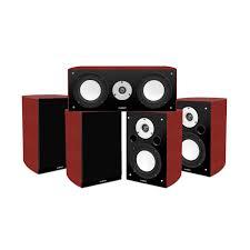 home theater speakers shoptronics rakuten reference series 5 0 surround sound home