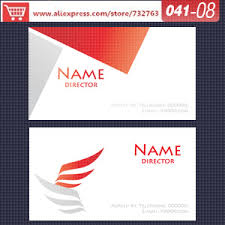 Free Business Cards Printing Aliexpress Com Buy 0041 08 Business Card Template For Printing