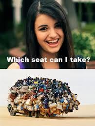 Take A Seat Meme - funny rebecca black pictures 19 pics