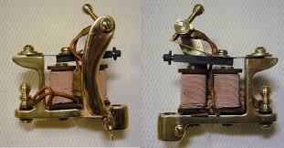 bbb brass iron copper carved tattoo machine bernhards