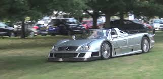 mercedes rally owner gets dirty runs dirt rally stage in mercedes benz clk gtr