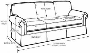 sofa dimensions standard sofa design ideas long average sofa length in list of standard