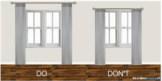 How To Hang A Curtain Download How High To Hang Curtains Monstermathclub Com