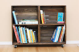 Locker Bookshelf 39 Wood Crate Storage Ideas That Will Have You Organized In No Time