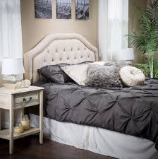 Tufted Bed Frame Queen Queen Tufted Headboard Diy Home Design Ideas