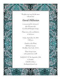 retirement party invitation wording retirement party invitations templates print your own retirement