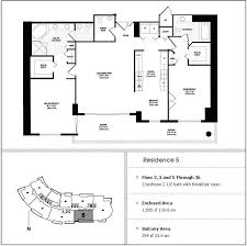 Axis Brickell Floor Plans Carbonell