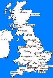 map uk harrogate map of great britain scotland and wales map of great britain