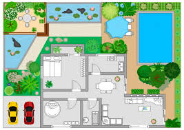elegant as well as lovely garden layout template for provide house