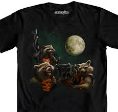 yes this is a three wolf moon t shirt with rocket racoon fanboy com