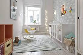 chambre bébé papier peint design interieur decoration chambre bebe papier peint gris nuages