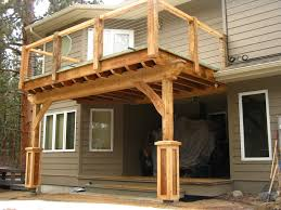 Steel Sled Deck Plans by Shed Roof Over Deck Plans U2022 Decks