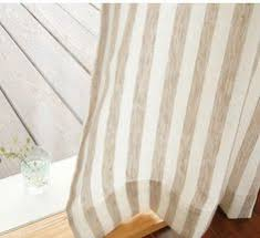 Striped Linen Curtains Striped Linen Curtain Linen Curtain Linens And Kitchen Window