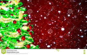hd loopable background with christmas tree stock footage