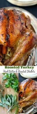 cookin canuck roasted turkey with herb butter roasted