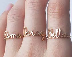 name rings images Stacking ring custom made silver ring by kathrynriechert on etsy jpg