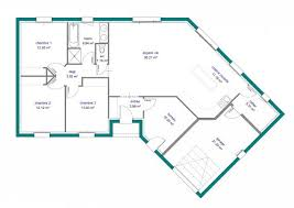 plan de maison en v plain pied 4 chambres plan de maison plain pied en v 4 chambres contemporaine lzzy co
