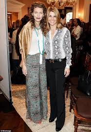 Lori Loughlin Thong - annalynne mccord attends women s rights event in bohemian style