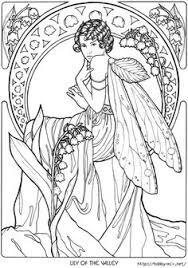 fairy mermaid coloring pages printable mermaid coloring pages coloring page for adults