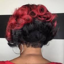 one side stack sassy bob bllack hair 50 trendy inverted bob haircuts