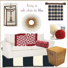 Red And White Buffalo Check Curtains For Your Inspiration Decorating With Red White And Blue
