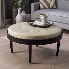 Coffee Table Storage Ottoman Ottoman Attractive Small Storage Ottoman Oversized Round With