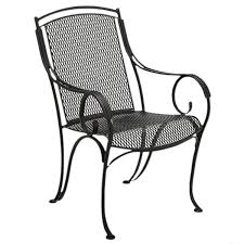 Black Rod Iron Patio Furniture Black Metal Patio Chairs Twinkle