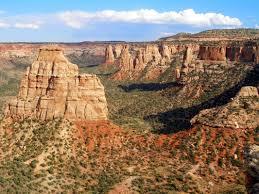 Colorado National Monument Map by Colorado National Monument Go Hike Colorado