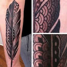 tribal eagle feather 3d