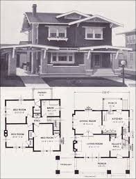 craftsman style house plans two story the belmont craftsman style two story 1923 standard homes