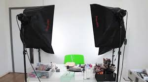 best softbox lighting for video how to lighting camera set up for youtube videos youtube
