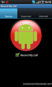 record on android record my call free android app android freeware