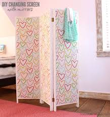 diy room divider ana white how to build a mirrored changing screen with pin