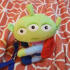 60 disney handbags disney pixar toy story plush alien