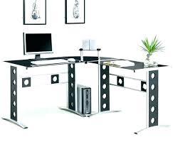 L Shaped Computer Desk White Bush L Shaped Desk Bush L Shaped Computer Desk With Hutch In