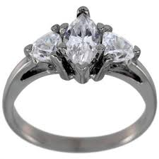 marquise diamond engagement ring dacarli marquise diamond engagement ring with trillions 3 4ct