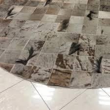 tappeti di pelliccia tappeti cuoium