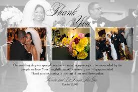 wedding thank you postcards wedding thank you cards grace n