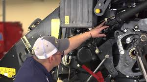 baler timing and shear bolt maintenance new holland balers youtube