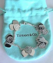 tiffany heart tag bracelet silver images New authentic tiffany co return to tiffany multi heart tag jpg