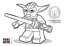 coloring pages disegni da colorare lego star wars yoda