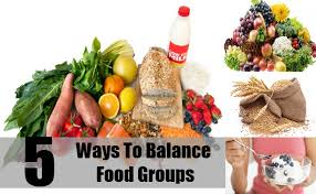 how to balance food groups tips for balancing your food groups